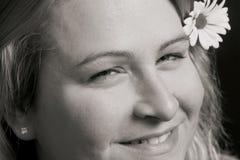Sourire de femmes Photo libre de droits