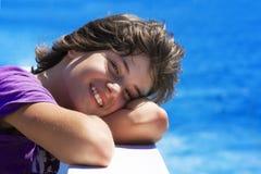 Sourire de fille Photos libres de droits