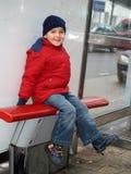Sourire de garçon Photo libre de droits