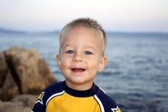 sourire de garçon Photographie stock libre de droits
