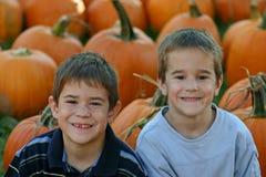 Sourire de garçons Photo libre de droits