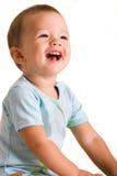 Sourire de gosse Photographie stock libre de droits