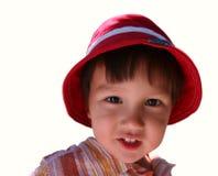 Sourire de gosse Image stock