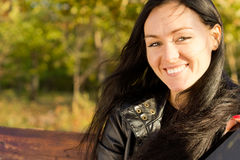 Sourire de jeune femme photo libre de droits
