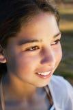 Sourire de jeune fille photos libres de droits