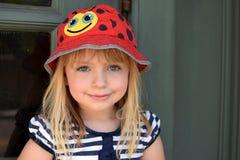 Sourire de jeune fille Photo libre de droits