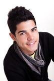 Sourire de jeune homme Photo libre de droits