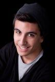 Sourire de jeune homme Photo stock