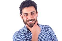 Sourire de jeune homme Photos stock
