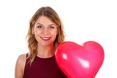 Sourire de jour du ` s de Valentine Image stock