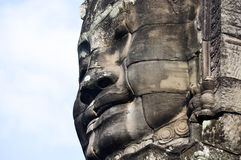 Sourire de Khmer Image libre de droits