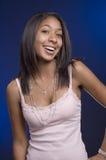 Sourire de l'adolescence Photo stock