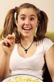 Sourire de l'adolescence Images stock