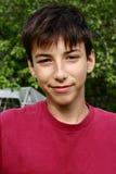 Sourire de l'adolescence Image libre de droits