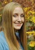 Sourire de l'adolescence Photographie stock