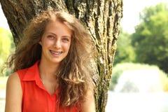 Sourire de l'adolescence Photos libres de droits