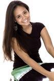 Sourire de l'adolescence Photographie stock libre de droits