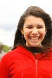 Sourire de l'adolescence images libres de droits