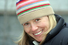 Sourire de l'hiver Photos libres de droits