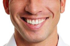 Sourire de l'homme Photographie stock libre de droits