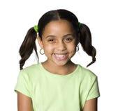 sourire de latino de fille Photos libres de droits