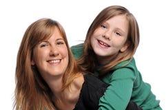 Sourire de mère et de descendant Photo libre de droits