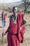 Sourire de Mara de masai Photo libre de droits