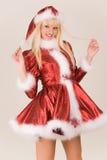 sourire de Mme Santa Images stock