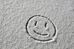 Sourire de neige photo stock