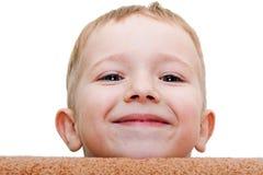 Sourire de petit enfant Image libre de droits