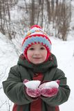 Sourire de petit enfant Photos stock