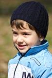 Sourire de petit garçon photographie stock libre de droits