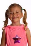 Sourire de petite fille photo libre de droits