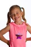 Sourire de petite fille photographie stock libre de droits