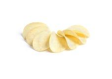 Sourire de pommes chips photo libre de droits