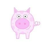sourire de porc Image libre de droits