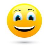 Sourire de vecteur Images libres de droits