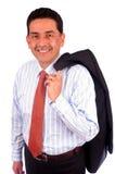 sourire de verticale d'homme d'affaires Photographie stock libre de droits