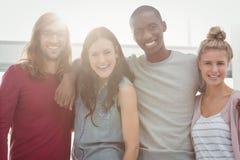 sourire de verticale de gens Image stock