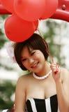 Sourire doux Photographie stock