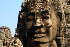 Sourire du Cambodge Images libres de droits