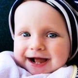 Sourire et chéri heureuse   Photos libres de droits