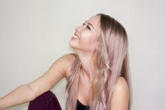 sourire et rire photographie stock libre de droits