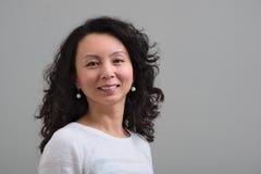 Sourire femelle d'Asiatique Photos libres de droits