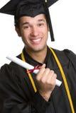 sourire gradué Photo stock