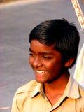 Sourire grand Image libre de droits