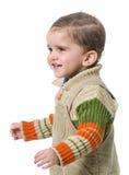 Sourire heureux d'enfant Images libres de droits