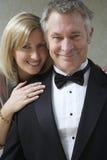 Sourire heureux de couples Images stock