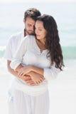 Sourire heureux de couples image libre de droits