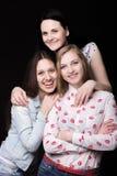 Sourire heureux de meilleurs amis ensemble Photographie stock libre de droits
